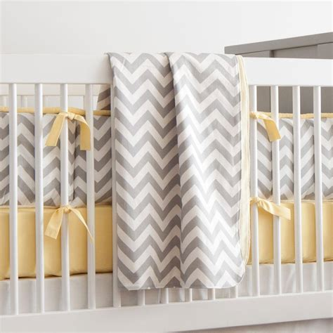 Yellow Crib Blanket by Gray And Yellow Zig Zag Crib Blanket Carousel Designs