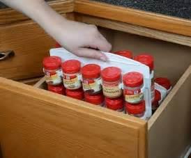 slide in spice rack