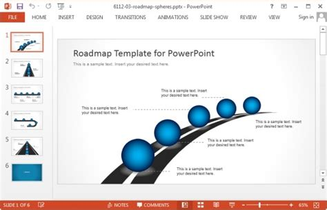powerpoint roadmap template free best project management powerpoint templates