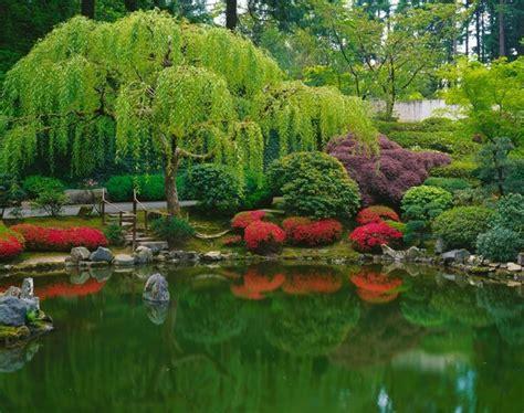 Strolling Pond Japanese Garden Wall Art Asian Japanese Garden Wall Murals