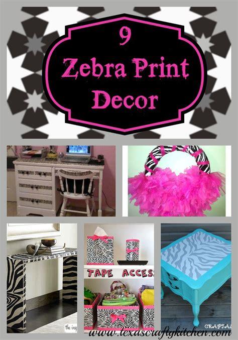 9 zebra print diy decor ideas crafty kitchen