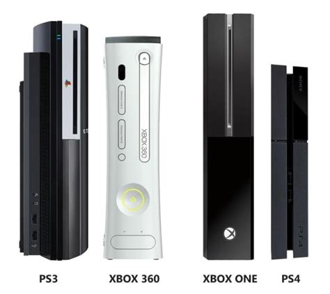 ps4 vs xbox one console ps4 vs xbox one consoles ubergizmo