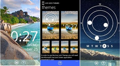 Live Lock Themes Windows Phone | live lock themes for windows phone 8 1 now available for