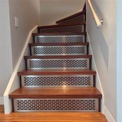How To Cut Stair Treads And Risers by Stair Risers Amp Treads Architectural Grille