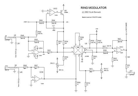 diode ring modulator definition lockbox synth ring modulator theory of operation