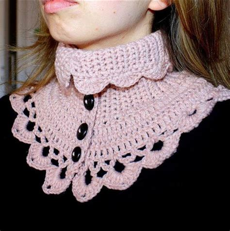 crochet neck design pattern 26 easy free crochet neck warmer patterns diy to make