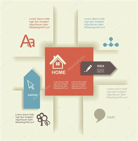 graphic design web page layout modern design template graphic or website layout vector