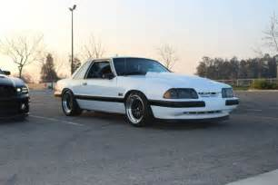 1989ford mustang lx 5 0 notchback supercharged foxbody