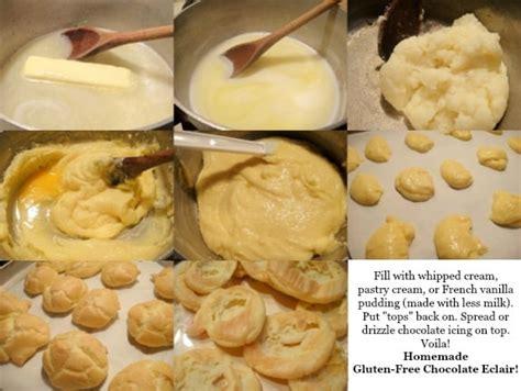 eclairs easy elegant homemade gluten free chocolate eclair recipes fabulous