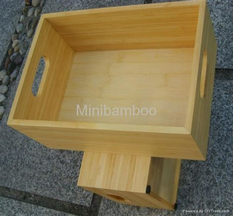 Bamboo Storage Organizer Box Organizer Serbaguna Limited bamboo storage container 622304 haoheng china manufacturer storage organization