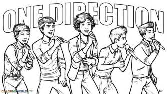 direction coloring pages girls direction concert coloring wallpaper