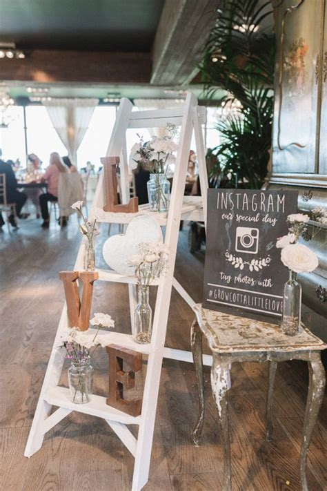 vintage decorations 25 wedding decoration ideas with vintage ladders