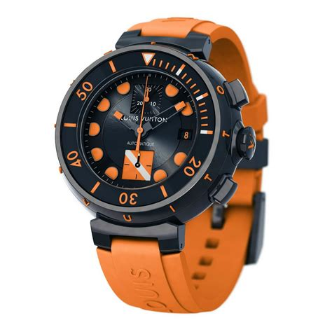 oceanictime louis vuitton tambour diver chronograph for