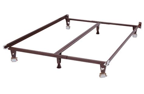 Metal Bed Frames With Wheels Premium Metal Bed Frame With Stronger Wide Wheels