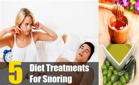 5 effectual diet treatments for snoring dietary