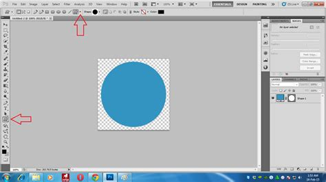 tutorial gambar bentuk mengenal menu shape di photoshop tutorial photoshop