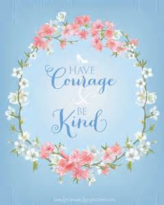 Have courage and be kind sisters for sunshine