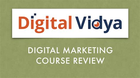 Digital Marketing Course Review 2 by Digital Vidya Digital Marketing Course Review Mr Mohit