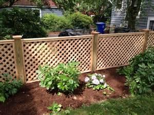 best 25 lattice fence ideas on backyard