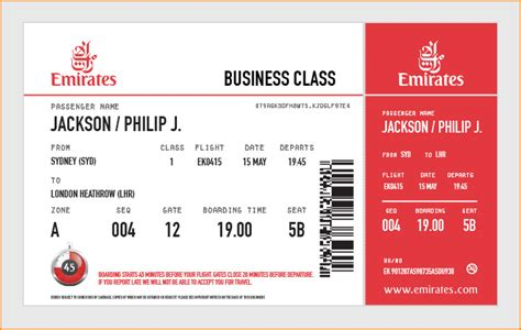 emirates boarding pass large airline tickets order giant novelty airline tickets