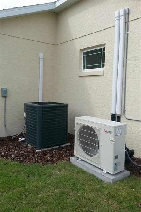 mitsubishi mini split install ac repair installation in the villages ocala fl