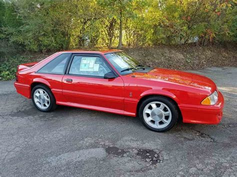 mustang cobra 93 for sale 1993 ford mustang cobra for sale classiccars cc