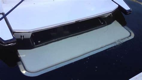 boat with no swim platform 2014 cobalt boats hydraulic swim platform youtube