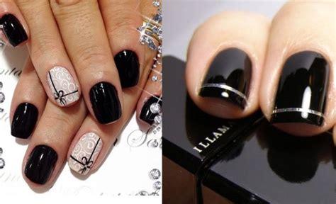 imágenes de uñas negras decoradas u 241 as decoradas im 225 genes todos los dise 241 os y modelos