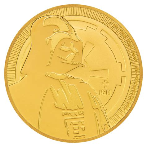Coin Wars 2017 2017 niue wars classic darth vader 1 oz gold 250 coin gem bu moderncoinmart