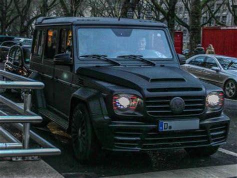 Farid Bangs Auto by Mansory Gronos Enth 252 Llt Die Mercedes G Klasse Farid