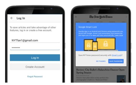 sign into chrome on android smart lock for passwords is a password manager from for android and chrome