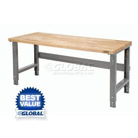 garage work bench height open leg work benches adjustable height at