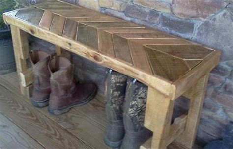 bench made out of pallets 77 diy bench ideas storage pallet garden cushion rilane