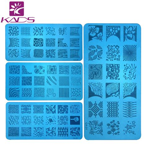 Konad Series Nail Kutek Tekstur hotsale 8pcs lot ca series 120 60mm size st sting image konad plate print nail
