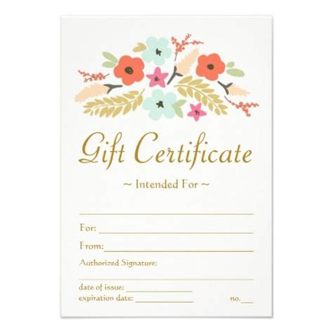 Editable Gift Card Template For Company by 25 Best Gift Certificate Templates Images On