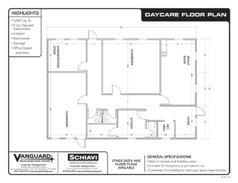 sle floor plans for daycare center preschool floor plan