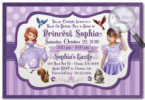 sofia the invitation template sofia the birthday invitation templates free