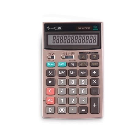 Calculator Joyko 12 Digits Standard Desktop Calculator calculator 12 digit 11012 torres office supplies