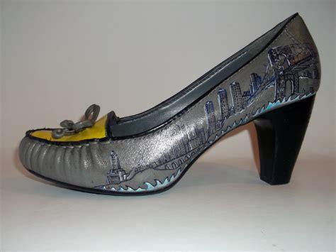shoes manhattan custom made painted shoes manhattan on luulla