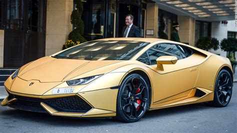 car lamborghini gold rich saudi s gold cars hit cnn com