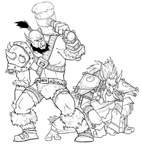 coloring pages of world of warcraft world of warcraft coloring book google search desenhos