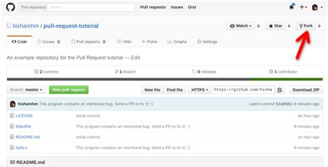git tutorial fork how to make a pull request on github a quick tutorial