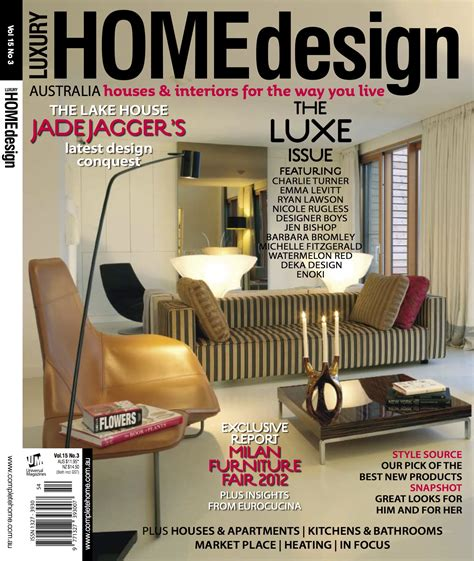home design magazine facebook my trend report in luxury home design magazine out today