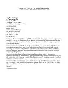 Healthcare Financial Analyst Cover Letter by Cover Letter Template Science