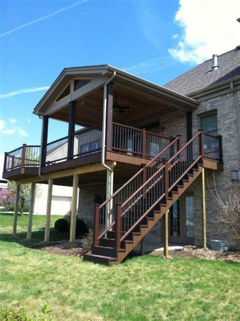 covered porch plans elevated screen porch designs covered decks and screened