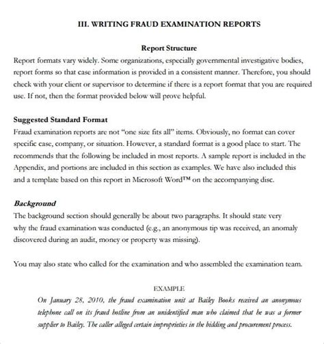 Report Writing Exle For Students by Sle Report Writing Format 46 Free Documents In Pdf