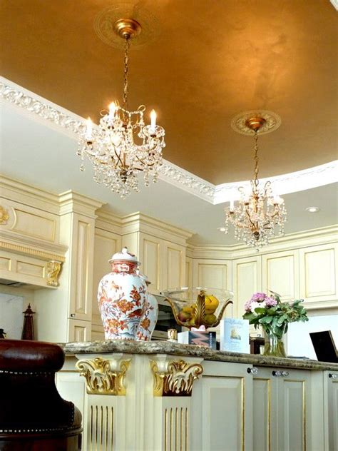 gold ceiling paint 24 trendy modern metal ceiling d 233 cor ideas shelterness