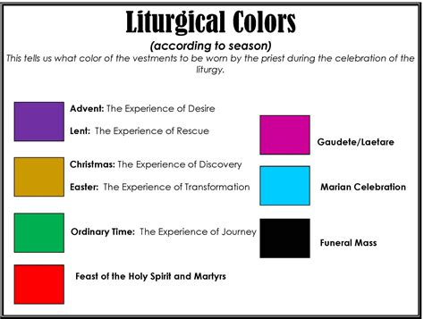 catholic colors search results for lutheran liturgical year calendar to