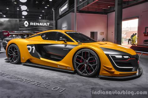 renault rs 01 renault showcases the r s 01 and eolab at auto expo