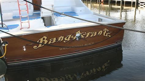 boat stern transom bangarang wrightsville beach boat transom boats transom
